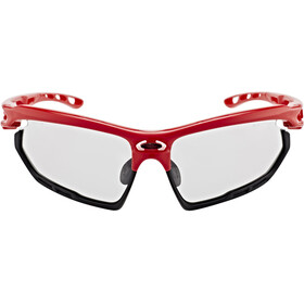 Rudy Project Fotonyk Cykelbriller, fire red gloss - impactx photochromic 2 black
